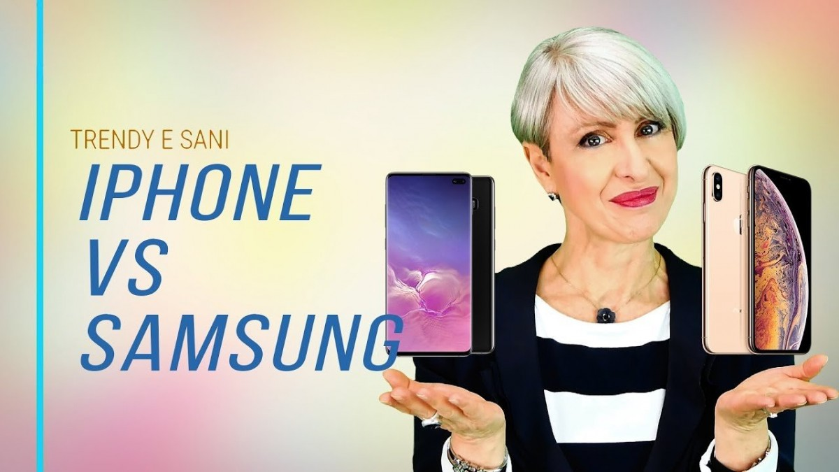 Test Display iPhone X VS Samsung Galaxy S10: fanno male agli occhi?